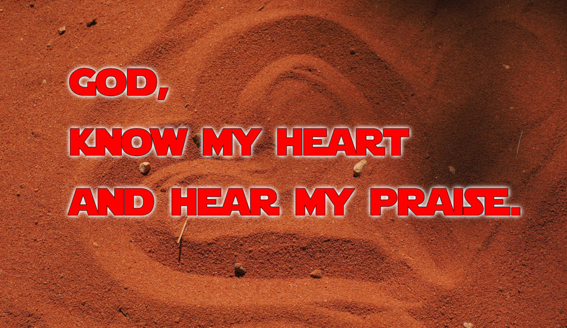Thank You is never enough, God, know my heart and hear my praise. Amen.